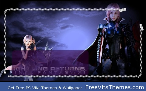 Lightning and Lumina PS Vita Wallpaper