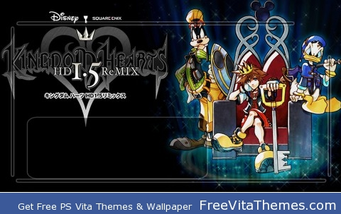 Kingdom Hearts 1.5 PS Vita Wallpaper