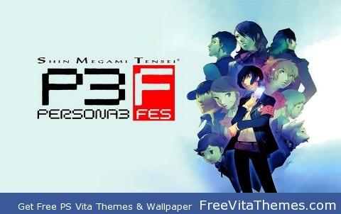 Persona 3 PS Vita Wallpaper