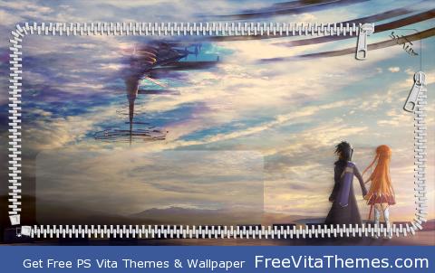 Sword Art Online LS3 PS Vita Wallpaper