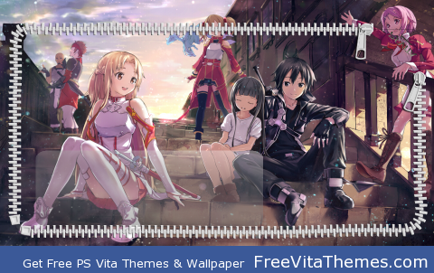 Sword Art Online LS1 PS Vita Wallpaper