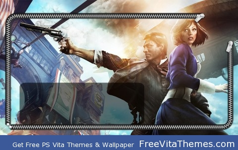 Bioshock Infinite Lockscreen PS Vita Wallpaper