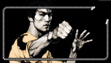 Download Bruce Lee PS Vita Wallpaper