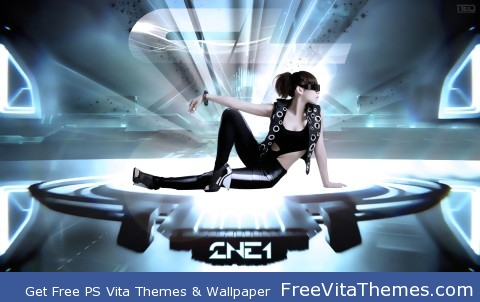CL Tron PS Vita Wallpaper