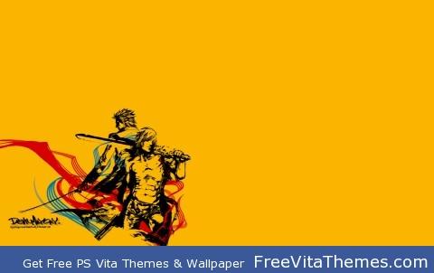 Devil May Cry Orange PS Vita Wallpaper