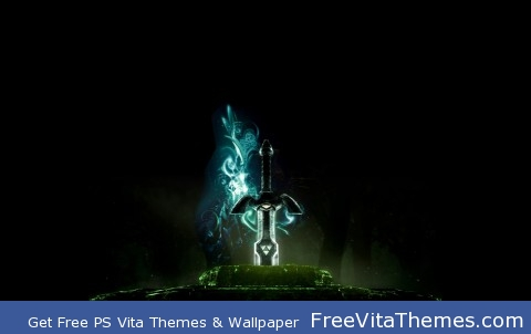 LoZ Master Sword at Rest PS Vita Wallpaper