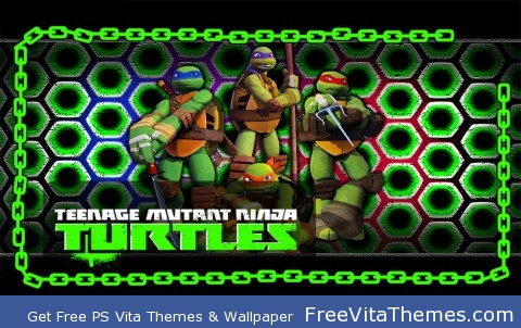 Teenage Mutant Ninja Turtles PS Vita Wallpaper