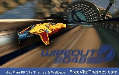 Wipeout 2048 PS Vita Wallpaper