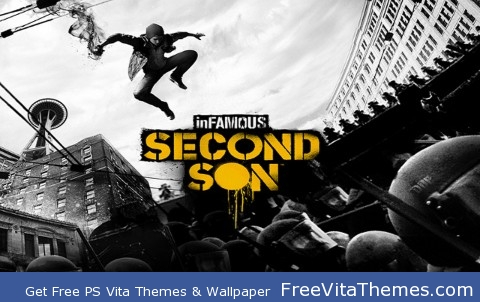 infamous second son PS Vita Wallpaper