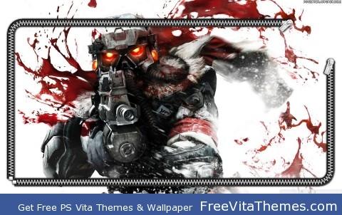 Killzone lockscreen (w/o time date bubble) PS Vita Wallpaper