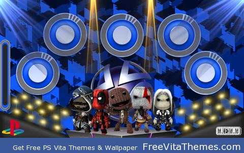 Little Big Planet Party PS Vita Wallpaper
