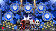Download Little Big Planet Party more shine PS Vita Wallpaper