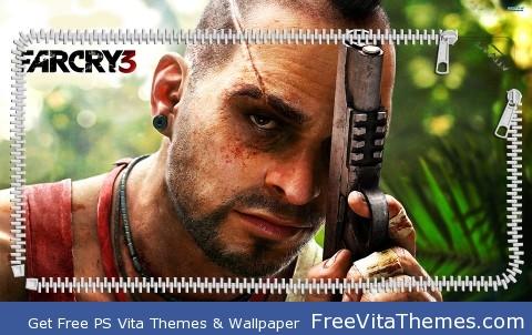 Vaas far cry 3 PS Vita Wallpaper