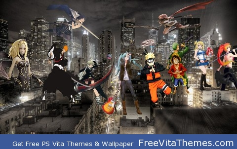 anime bash PS Vita Wallpaper