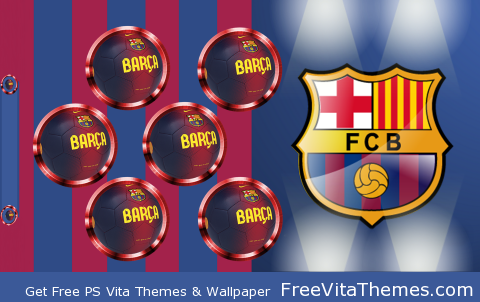FC Barcelona PS Vita Wallpaper