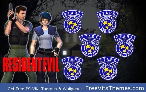 Resident Evil 1 PS Vita Wallpaper