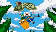 Download Adventure time PS Vita Wallpaper