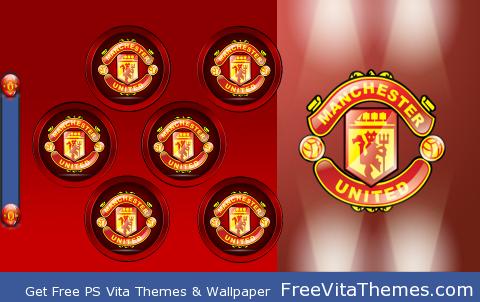 Manchester United by M.E.M.M PS Vita Wallpaper