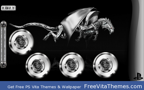 Metal Dragon .. By M.EM.M PS Vita Wallpaper