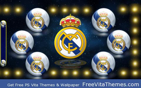 Real Madrid by M.E.M.M PS Vita Wallpaper