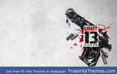 Unit 13 gun wall PS Vita Wallpaper