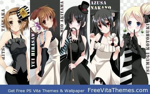 K-ON PS Vita Wallpaper