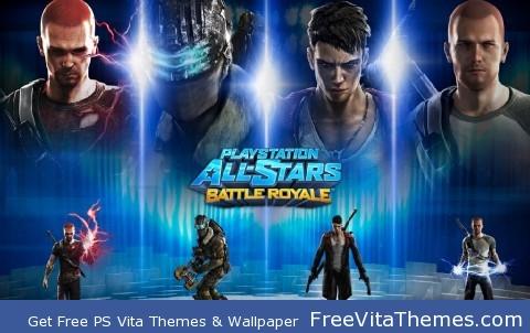 Ps all stars battle royale PS Vita Wallpaper