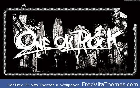 One Ok Rock Black PS Vita Wallpaper