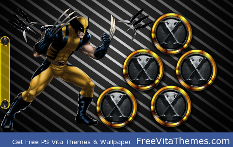 Wolverine 2 PS Vita Wallpaper