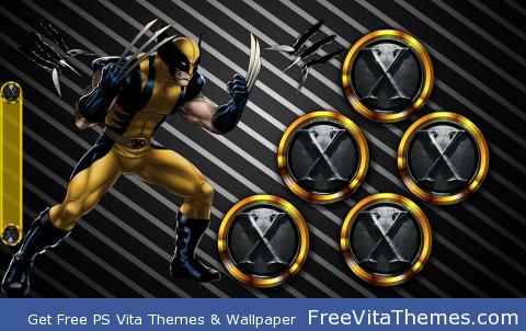 Wolverine 2 PS Vita Wallpaper