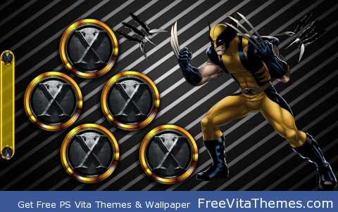 Wolverine 1 PS Vita Wallpaper