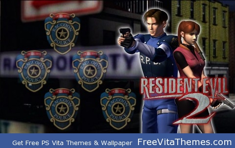 resident evil 2 PS Vita Wallpaper