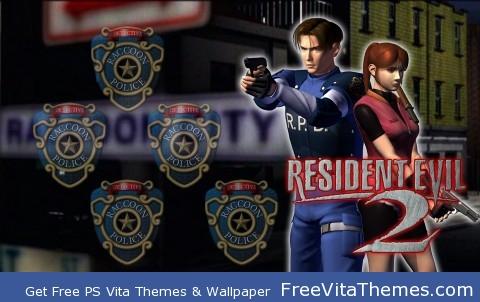 resident evil 2 PS Vita Wallpaper