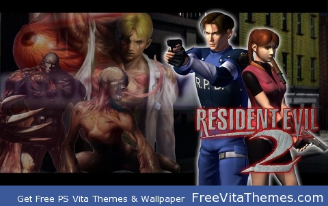 resident evil 2 ver.2 PS Vita Wallpaper