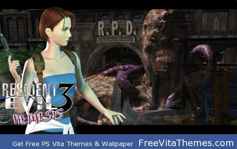 resident evil 3: nemesis PS Vita Wallpaper