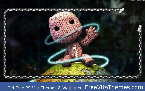 Sackboy-LBP PS Vita Wallpaper