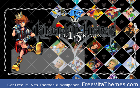KH 1.5 PS Vita Wallpaper