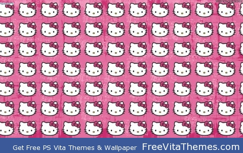 hello kitty PS Vita Wallpaper