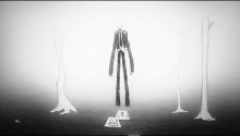 Download Slender Man PS Vita Wallpaper