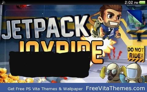 jetpack joyride lockscreen PS Vita Wallpaper