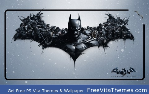Batman Arkham Origins PS Vita Wallpaper