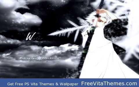 Bleach Hitsugaya PS Vita Wallpaper