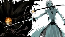 Download Bleach IchigoxHollow PS Vita Wallpaper