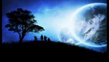 Download Blue night PS Vita Wallpaper