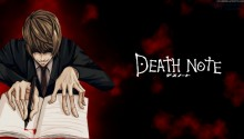 Download Death Note Yagami Light PS Vita Wallpaper