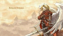 Download Full Metal Alchemist Edward Elric PS Vita Wallpaper