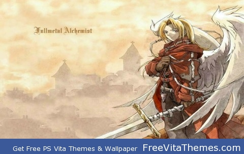 Full Metal Alchemist Edward Elric PS Vita Wallpaper