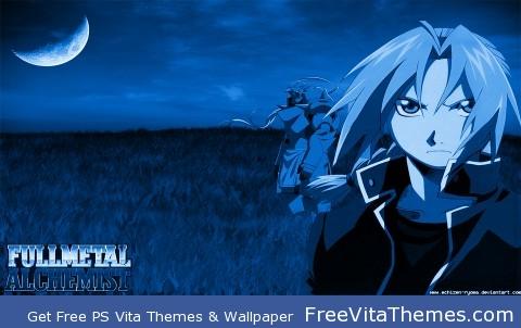 Edward Elric PS Vita Wallpaper