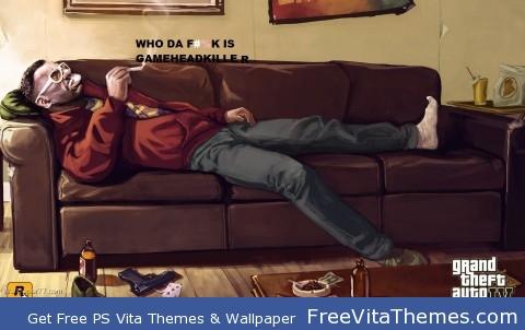 GAMEHEADKILLER PS Vita Wallpaper