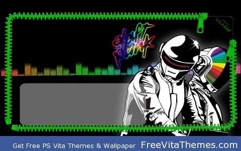 DAFT PUNK LOCKSCREEN 960×544 PS Vita Wallpaper
